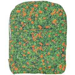 Carnations Flowers Seamless Full Print Backpack