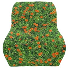 Carnations Flowers Seamless Car Seat Back Cushion