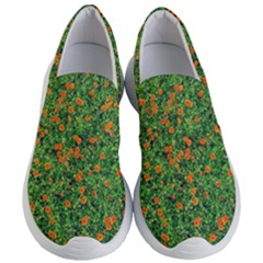 Carnations Flowers Seamless Women s Lightweight Slip Ons