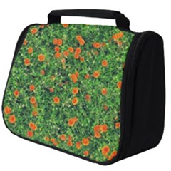 Carnations Flowers Seamless Full Print Travel Pouch (big)