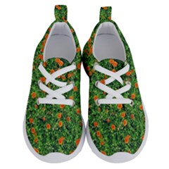 Carnations Flowers Seamless Running Shoes
