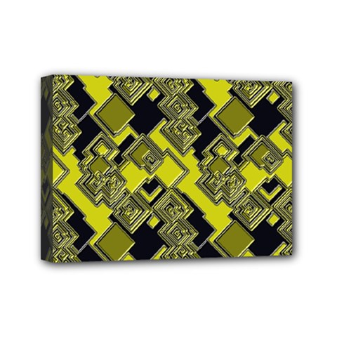 Seamless Pattern Background Mini Canvas 7  X 5  (stretched)