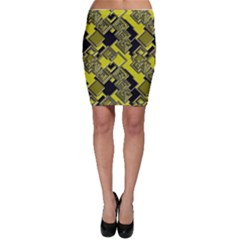 Seamless Pattern Background Bodycon Skirt