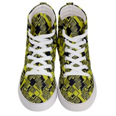 Seamless Pattern Background Men s Hi Top Skate Sneakers