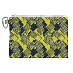 Seamless Pattern Background Canvas Cosmetic Bag (xl)