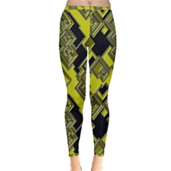 Seamless Pattern Background Inside Out Leggings