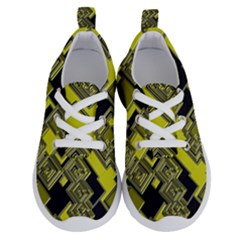 Seamless Pattern Background Running Shoes