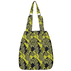 Seamless Pattern Background Center Zip Backpack