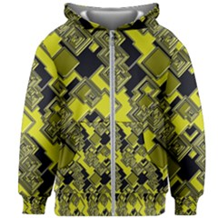 Seamless Pattern Background Kids  Zipper Hoodie Without Drawstring