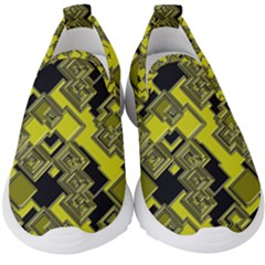 Seamless Pattern Background Kids  Slip On Sneakers