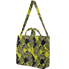Seamless Pattern Background Square Shoulder Tote Bag