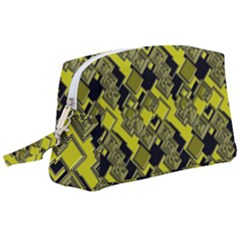 Seamless Pattern Background Wristlet Pouch Bag (large)