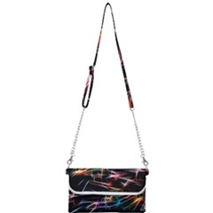 Lights Star Sky Graphic Night Mini Crossbody Handbag