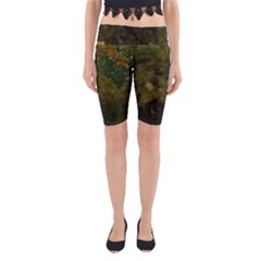 Vermont Trees Yoga Cropped Leggings