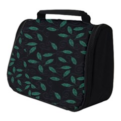 Copper Leaves Full Print Travel Pouch (small)