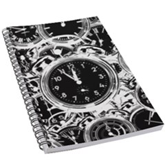 Clock Face 5 5 5  X 8 5  Notebook by impacteesstreetwearten