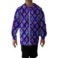 Symmetry Kids  Hooded Windbreaker by Sobalvarro