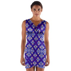 Symmetry Wrap Front Bodycon Dress by Sobalvarro