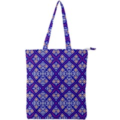 Symmetry Double Zip Up Tote Bag by Sobalvarro