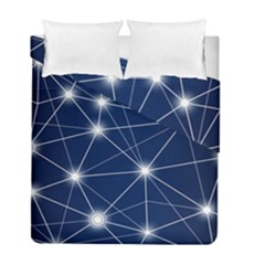 Network Technology Digital Duvet Cover Double Side (full/ Double Size)