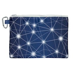 Network Technology Digital Canvas Cosmetic Bag (xl)