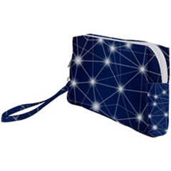 Network Technology Digital Wristlet Pouch Bag (small)
