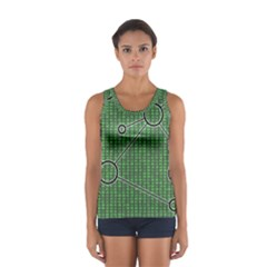 Network Communication Technology Sport Tank Top