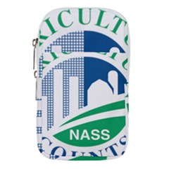 Logo Of Usda National Agricultural Statistical Service Waist Pouch (large)