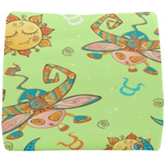 Bull Zodiac Sign Pattern Seat Cushion