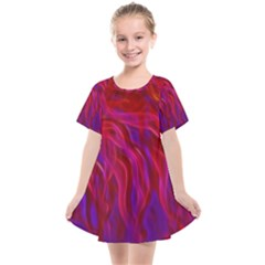 Background Texture Pattern Kids  Smock Dress