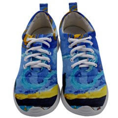 Painting Illustrations Vincent Van Gogh Mens Athletic Shoes by Wegoenart