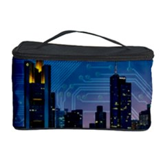 Smart City Circuit Board Cosmetic Storage