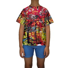 July 1 1 Kids  Short Sleeve Swimwear by bestdesignintheworld