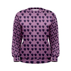 Pansies Pink Pattern Women s Sweatshirt