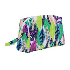 Leaves  Wristlet Pouch Bag (medium) by Sobalvarro