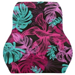 Leaves Car Seat Back Cushion  by Sobalvarro