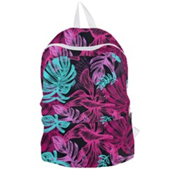 Leaves Foldable Lightweight Backpack by Sobalvarro