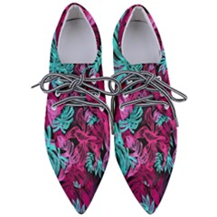 Leaves Women s Pointed Oxford Shoes by Sobalvarro
