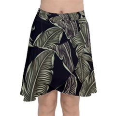 Jungle Chiffon Wrap Front Skirt by Sobalvarro