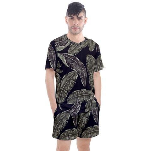 Jungle Men s Mesh Tee And Shorts Set by Sobalvarro