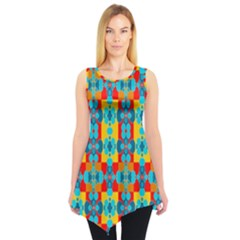 Pop Art  Sleeveless Tunic by Sobalvarro