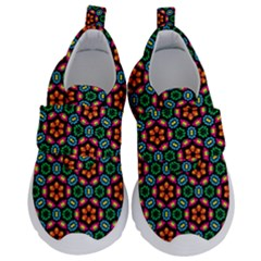 Pattern  Kids  Velcro No Lace Shoes by Sobalvarro