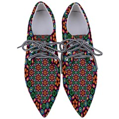 Pattern  Women s Pointed Oxford Shoes by Sobalvarro