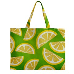 Lemon Fruit Healthy Fruits Food Medium Tote Bag by Wegoenart
