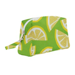 Lemon Fruit Healthy Fruits Food Wristlet Pouch Bag (medium)