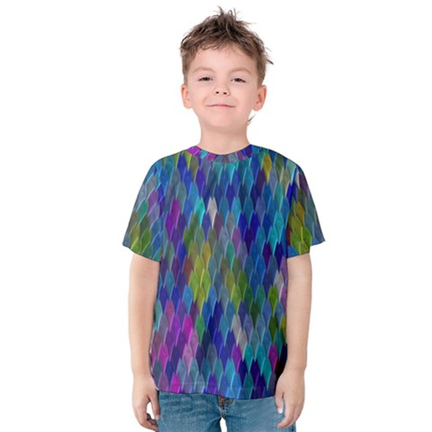 Background  Kids  Cotton Tee by Sobalvarro