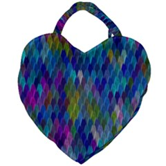Background  Giant Heart Shaped Tote by Sobalvarro