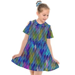 Background  Kids  Short Sleeve Shirt Dress by Sobalvarro