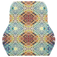 Pattern Car Seat Back Cushion  by Sobalvarro