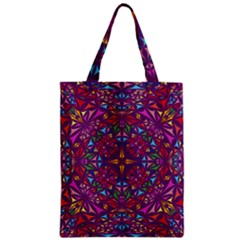 Kaleidoscope  Zipper Classic Tote Bag by Sobalvarro